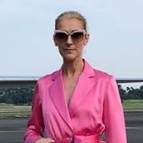 世界の歌姫オーラがスゴイ セリーヌ・ディオンの全身ピンクのスーツ姿