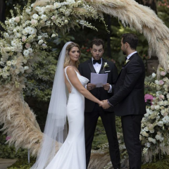 アシュリー・グリーンが結婚! まるで『トワイライト』のようなウェディングにウットリ