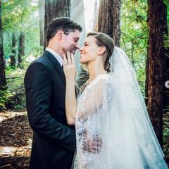 森の中で「夢が叶った」 女優ヒラリー・スワンクが極秘結婚していた!