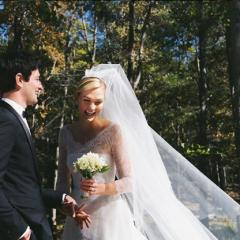 モデルのカーリー・クロスが結婚! 来春には、盛大なパーティーを計画中?