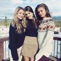 美人姉妹ショットや家族写真を公開! セレブたちのサンクスギビングデー