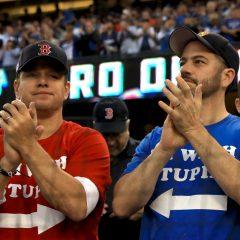 ジミー・キンメルとマット・デイモン、またまたバトル勃発!? あのスター選手も巻き添えに
