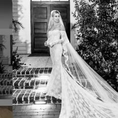 「死がふたりを分かつまで」 ヘイリー・ビーバー、ウェディングドレスの写真を初公開!